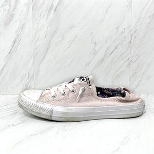 Converse-Light Pink Shoreline Sneaker Size 10 WM